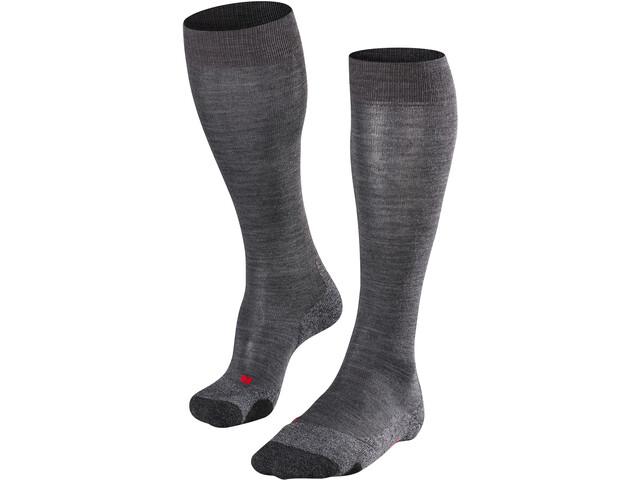 Falke TK 2 Long Socks Damen asphalt melange